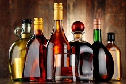 Крепкие алкогольные напитки
